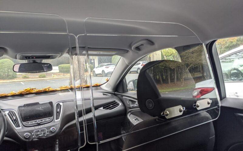 Headrest Barrier Kit