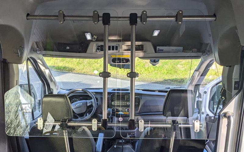 Transit Van Barrier Kit